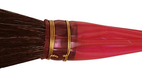 Da Vinci Gilding Series 750 Double Quill Gilder Mop, Oval Black Goat Hair, Size 15-0