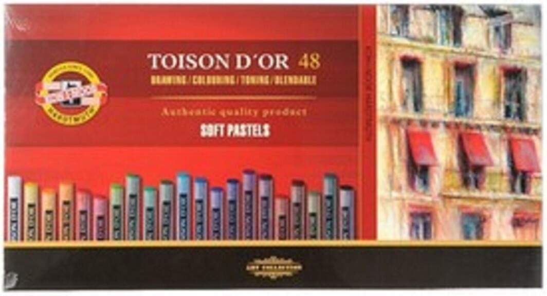 Koh-I-Noor-Toinson D'Oor Set Of 48 Dry Artists Pastels-0
