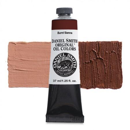 Daniel Smith Original Oil Color, Burnt Sienna, 37 ml.-0