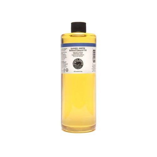 Daniel Smith Original Oil, Refined Linseed Oil, 16oz-0