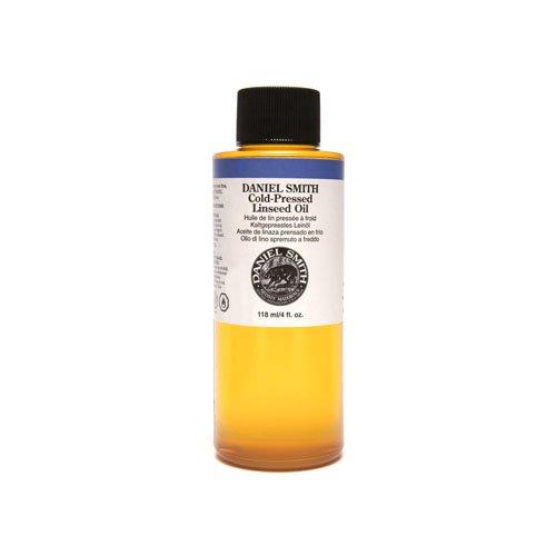 Daniel Smith Original, Cold-Pressed Linseed Oil, 4oz-0