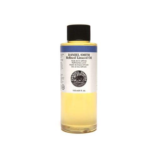 Daniel smith original Refined Linseed Oil, 4oz-0
