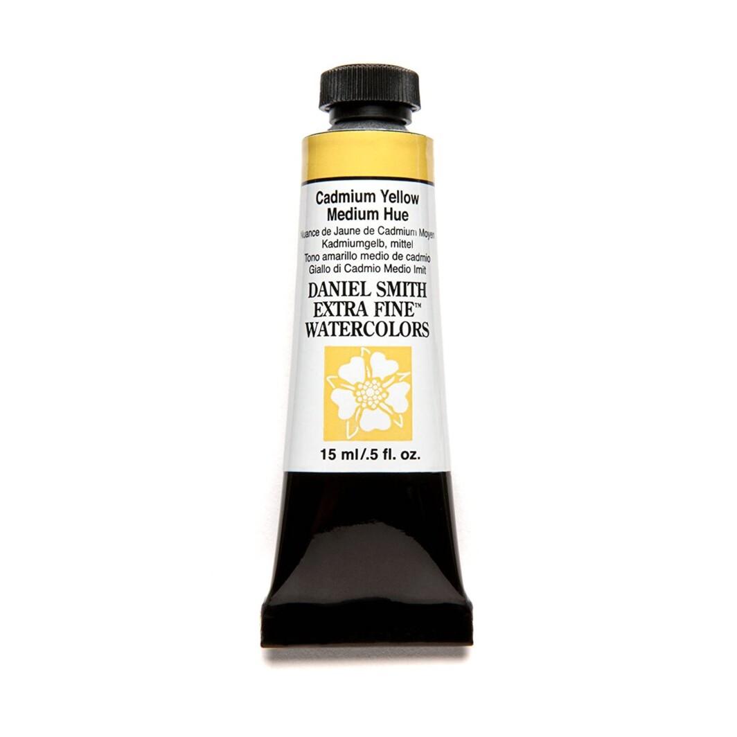 Daniel Smith original Watercolor 15ml Paint Tube, Cadmium Yellow Medium Hue-0