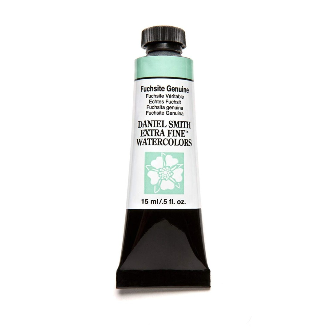 Daniel Smith Extra-Fine Watercolor 15ml Tube - Fuchsite Genuine-0
