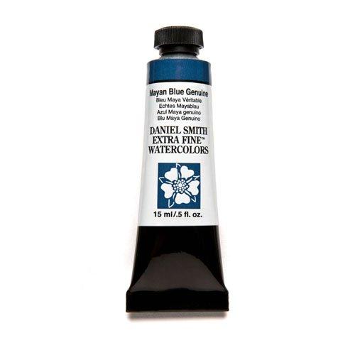 Daniel Smith Extra-Fine Watercolor 15ml Tube - Mayan Blue Genuine-0