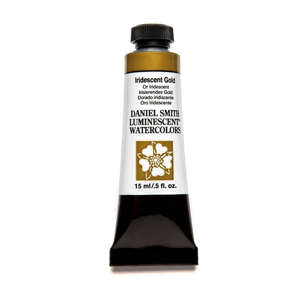 Daniel Smith Extra-Fine Watercolor - 15ml Tube Iridescent Gold-0