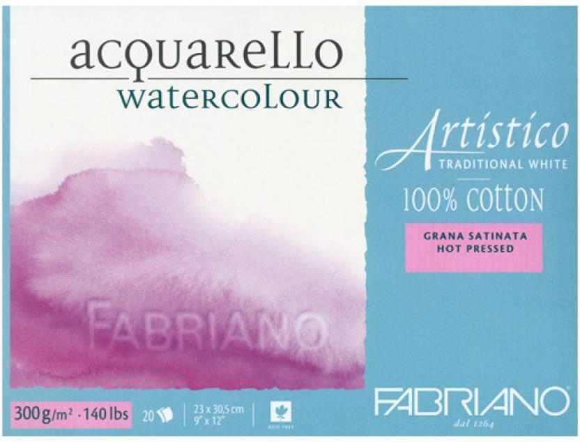 Fabriano Artistico Traditional White Watercolor Blocks 300 GSM-0