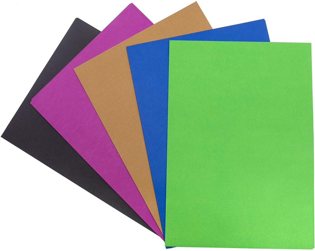 Artrex A4 Mixed Color Paper Trend 80 GSM 10 colour (Pack of 100 Sheets)-0