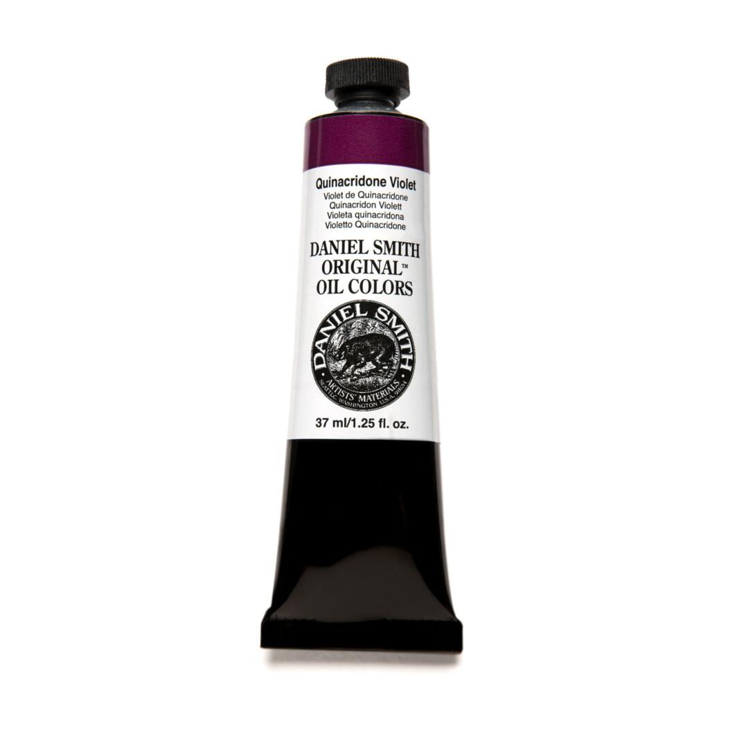 Daniel Smith Original Oil Color 37ml Paint Tube Quinacridone Violet-0