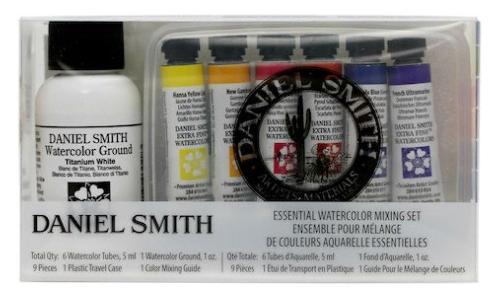 Daniel Smith Essential Watercolor Mixing Set 6 Tubes 5ml-0