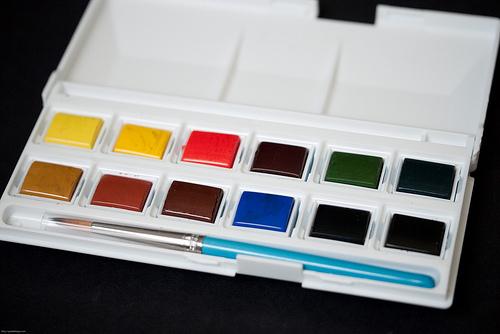 Daler Rowney Aquafine Watercolor Pocket Set 12-6432