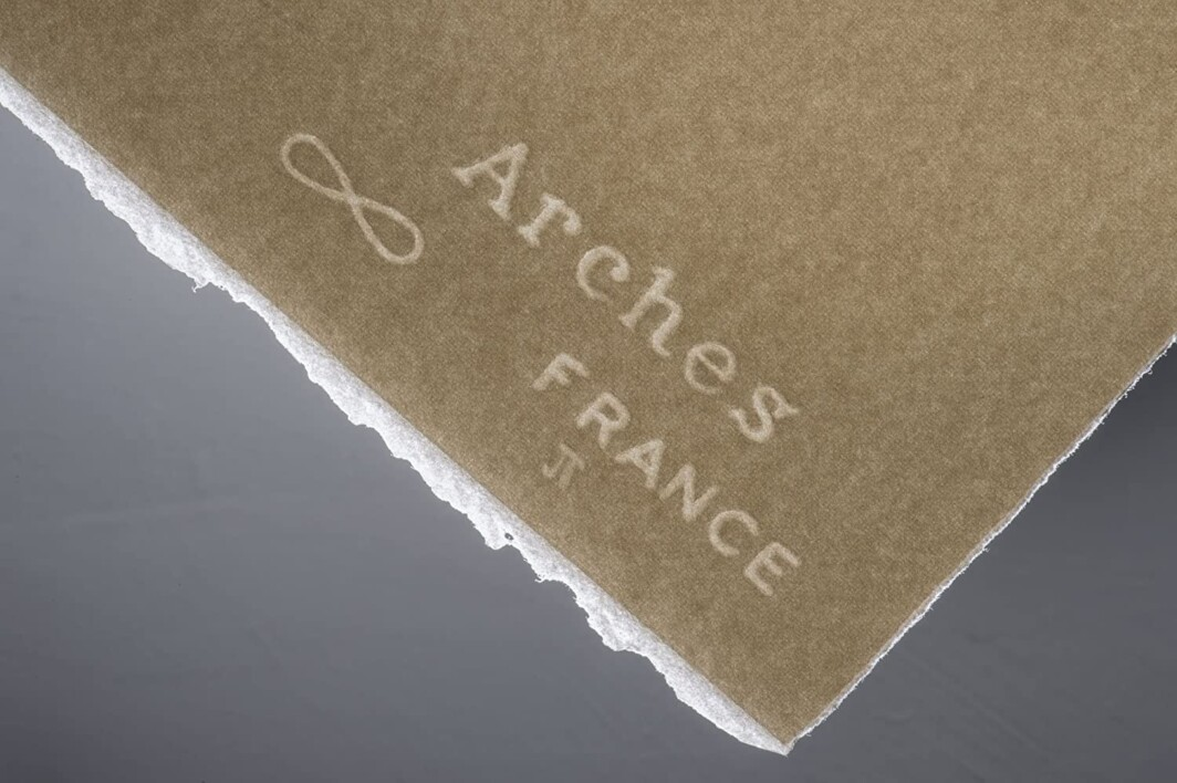 Arches Watercolour Paper Rough 300 GSM 56 X 76 CM ( Pack Of 10 ) Natural White-6709