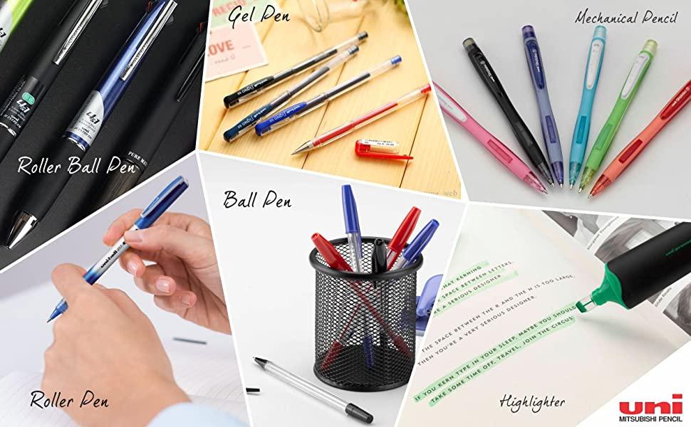Uni-ball SIGNO UM-100 Gel Pen (Cream White Ink, Pack of 1)-6821