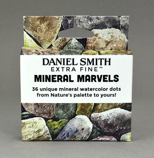 DANIEL SMITH Mineral Marvels Dot Card Set-0