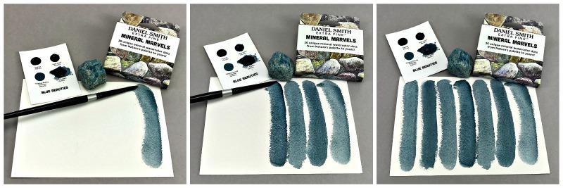 DANIEL SMITH Mineral Marvels Dot Card Set-7013