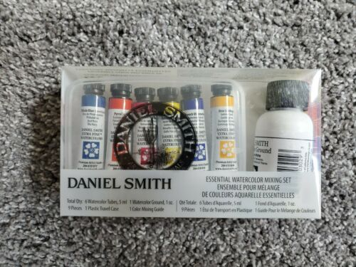 DANIEL SMITH MINERAL WATERCOLOUR MIXING SET-0